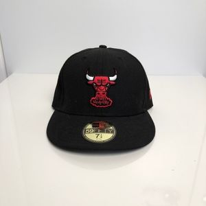 Chicago Bulls NBA New Era Fitted Cap size 7 1/4